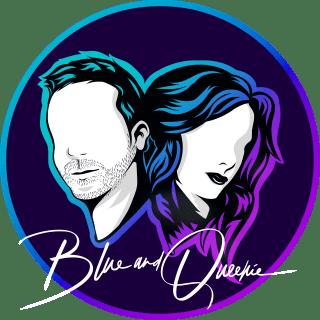 Blue and Queenie Logo Blue Alternative